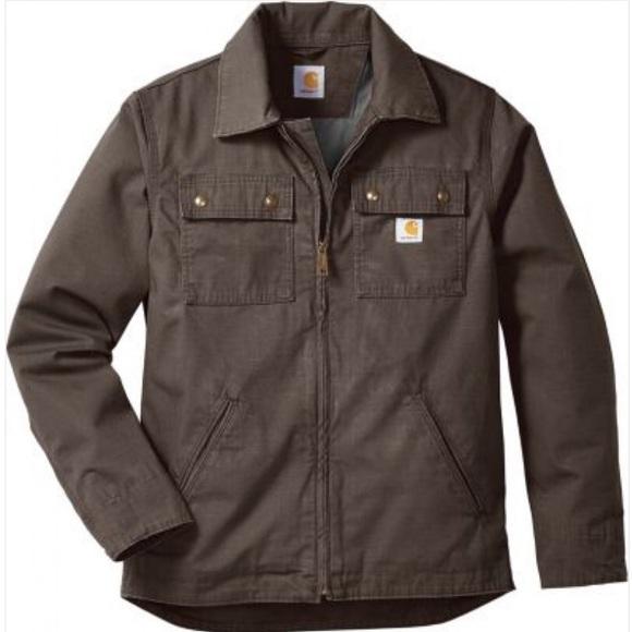 Carhartt Mens Big /& Tall Flint Jacket
